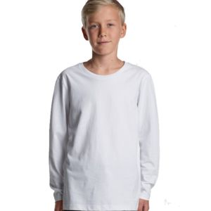 AS Colour Long Sleeve Kids Tee Thumbnail