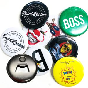 Badge 58mm Bottle Opener Magnetic Thumbnail
